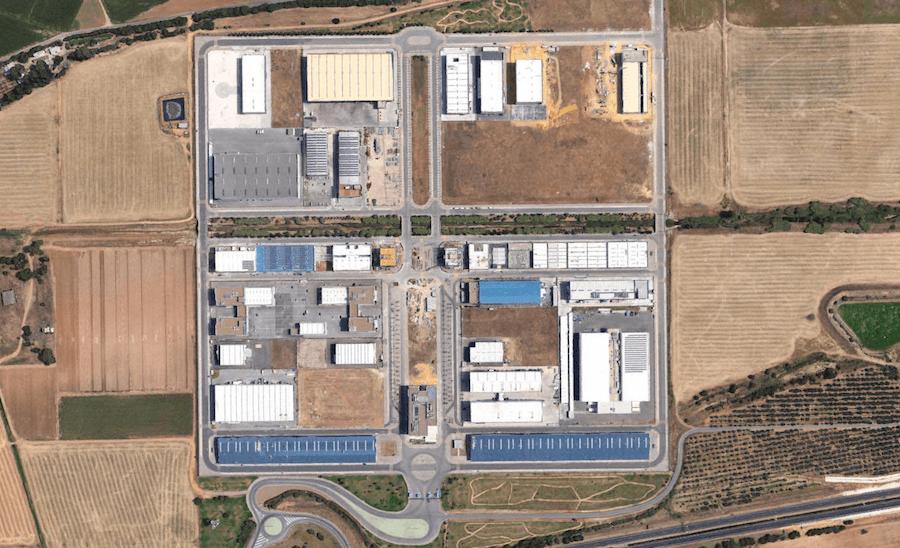 Parque Aeronáutico (57 Ha) en La Rinconada, Sevilla. Proyecto de Urbanización.
