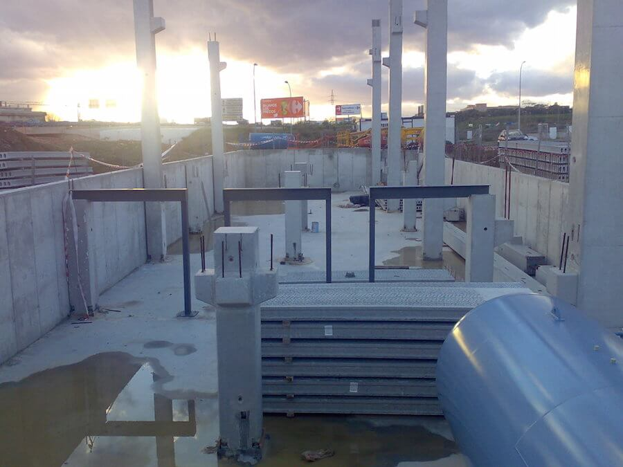 San Rafael 66/20 kV, en Avenida Gregorio Prieto s/n en Málaga. Subestación.