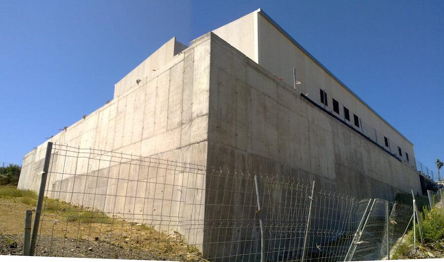 Valle Romano 66/20 kV, en parcela 240 del polígono 14 de Estepona. Subestación.