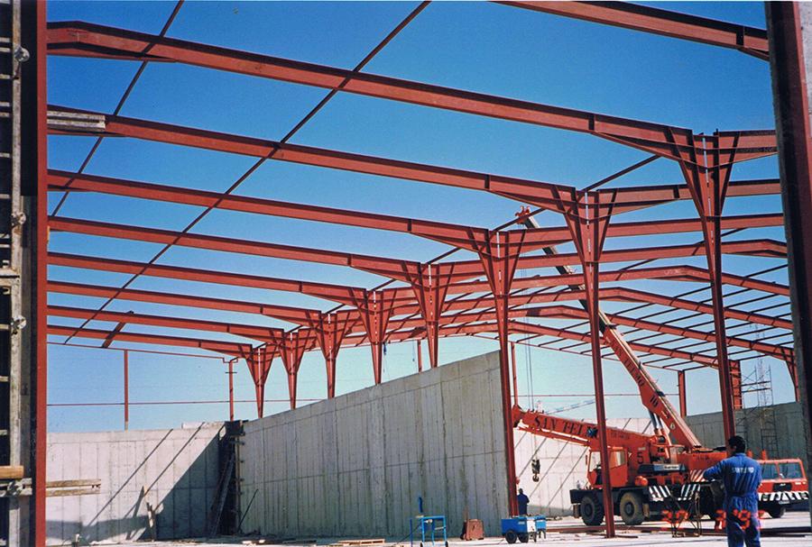 Proyecto de Ejecución para la construcción de Nave Industrial de 4.000 m2, pórticos de 30 m., en el Puerto de Las Cabezuelas, en Puerto Real, Cádiz.