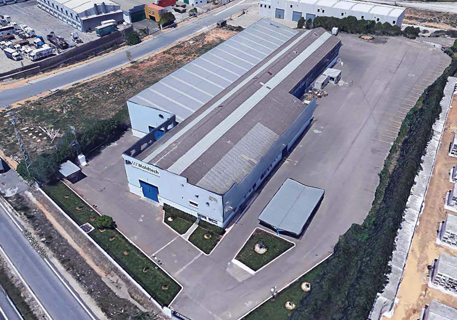 Proyecto de Ejecución de Nave Industrial de 4.000 m2, carretera Sevilla-Málaga, para Levantina de Granitos y Esteve y Máñez, en Alcalá de Guadaira, Sevilla.