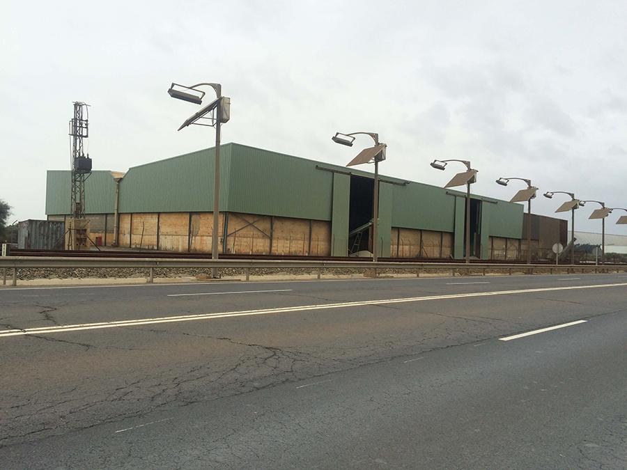Proyecto de Ejecución para la construcción de Nave Industrial de 4.000 m2, pórticos de 25 m., en el Nuevo Puerto de Palos de la Frontera, Huelva.