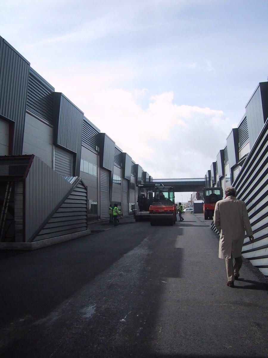 Proyecto de Ejecución de Nave 4B de 9.000 m2 en la Parcela 4B2 del Parque Industrial La Negrilla, en el Pk 1 de la Autovía A-92, Sevilla.