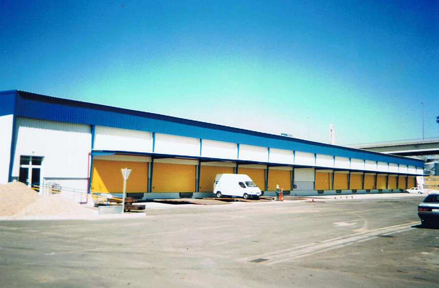 Proyecto de Ejecución para la construcción de Nave de 4.000 m2, pórticos de 35 m., en la Zona AP-2 (CITAL) del Plan Especial del Puerto de Sevilla.