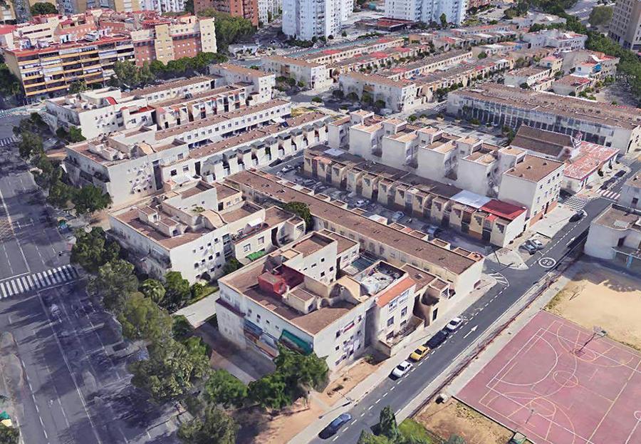 Proyecto Básico y de Ejecución de 128 Viviendas Unifamiliares y 8 Locales Comerciales en la Barriada de la Corza de Sevilla, 3º Fase.