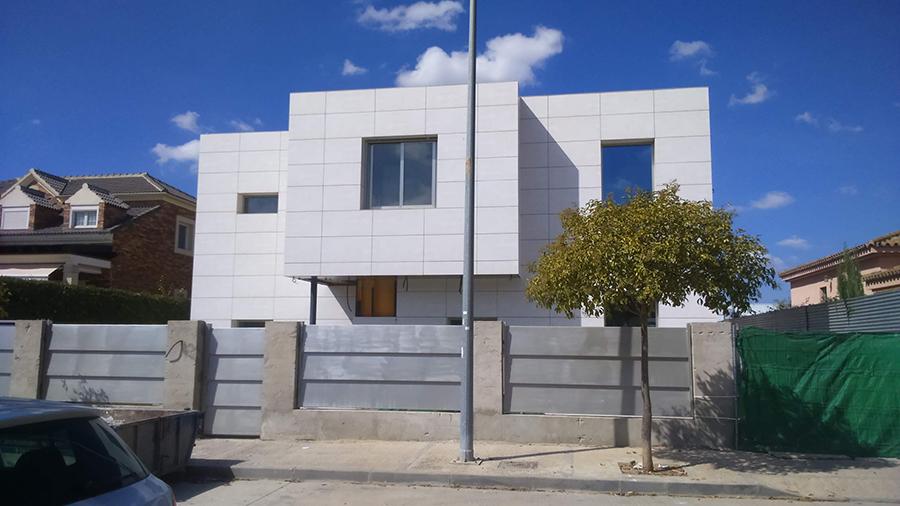 Vivienda unifamiliar aislada en calle Sócrates, Jerez de la Frontera.