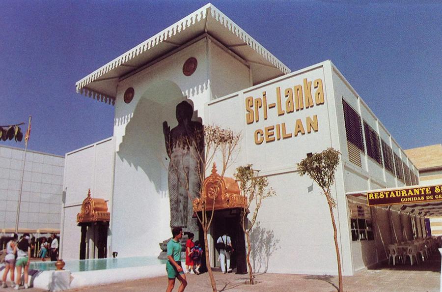 Proyecto de Ejecución del Pabellón de SRI LANKA en la Expo' 92 de Sevilla.