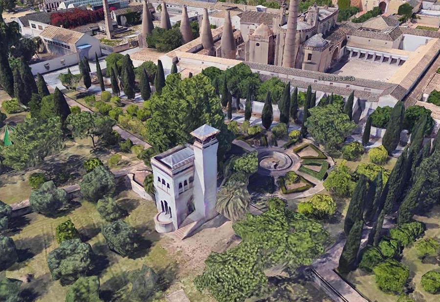 Proyecto de Restauración de la Capilla de Santas Justa y Rufina (Siglo XIV) en la Cartuja de Ntra. Sra. de las Cuevas de Sevilla.