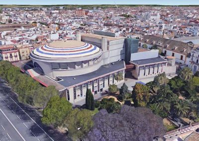 Proyecto de Ampliación del Teatro de la Maestranza, Paseo de Colón de Sevilla.