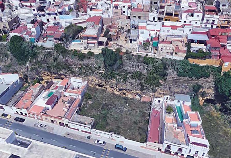 Proyecto de Consolidación del Talud entre calles San Fernando y San Miguel de Alcalá de Guadaira