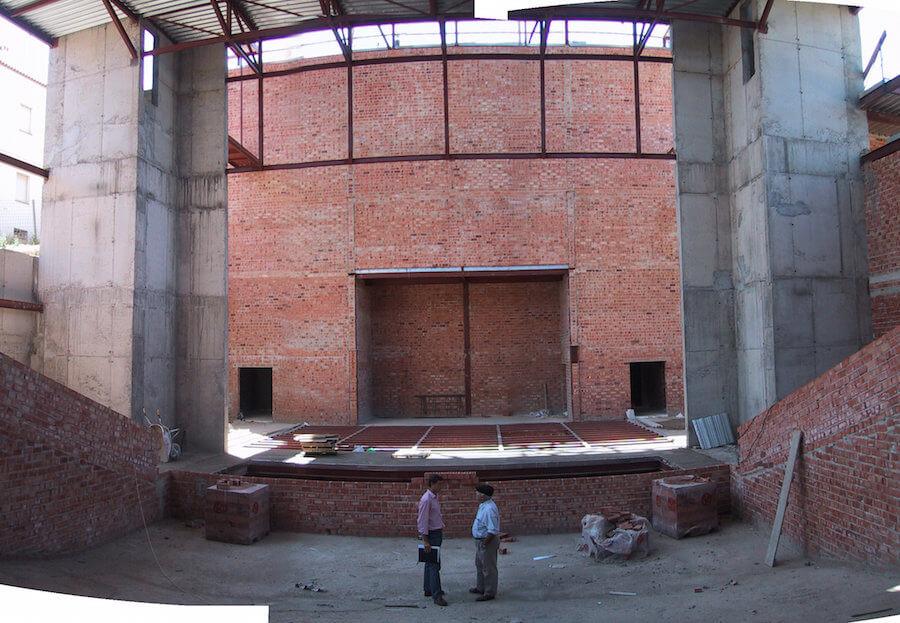 Proyecto de Ejecución del Teatro Municipal de Aracena, Huelva, (600 espectadores)