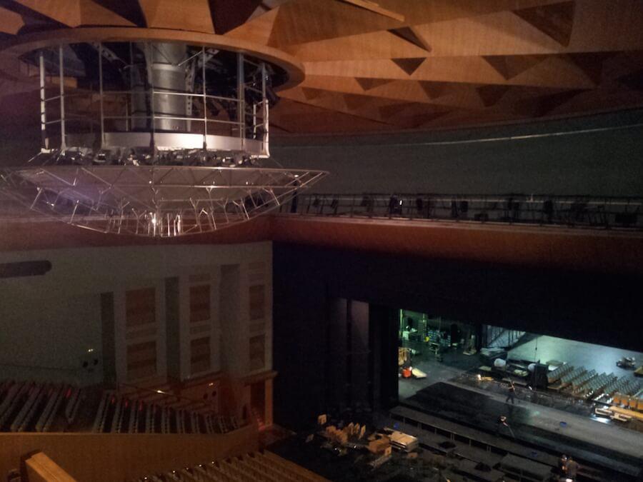 Proyecto de Ejecución del Teatro de la Maestranza en el Paseo de Cristóbal Colón de Sevilla. (1.992 espectadores).